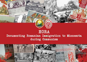Oral History Project – Heritage Organization of Romanian Americans